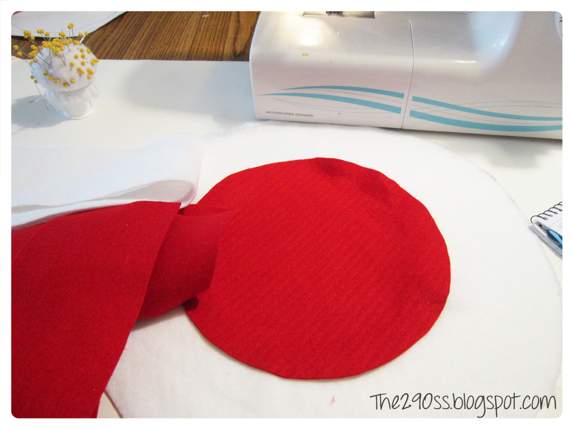 Cat In The Hat Bow Template Hat and bow tutorial (the cat