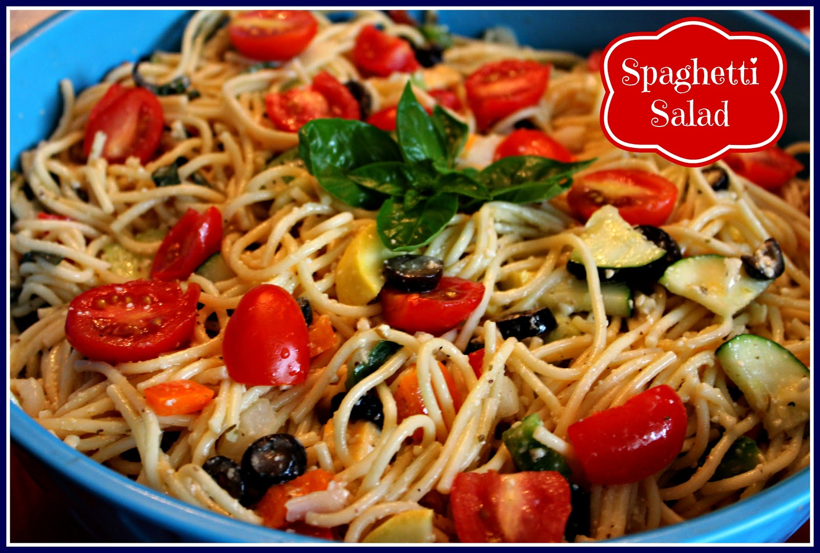 Sweet Tea And Cornbread Spaghetti Salad