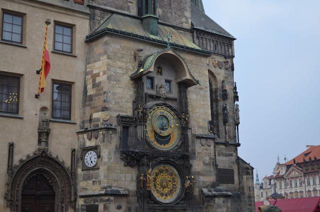 Prag - Altstädter Rathaus - Astronomische Uhr