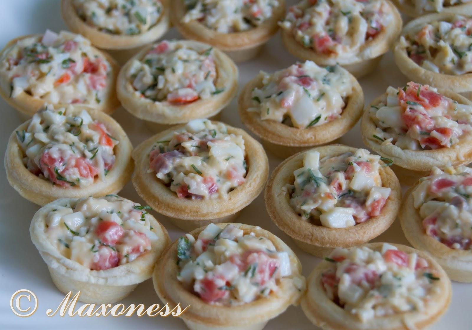 салаты и закуски в тарталетках с фото рецепты