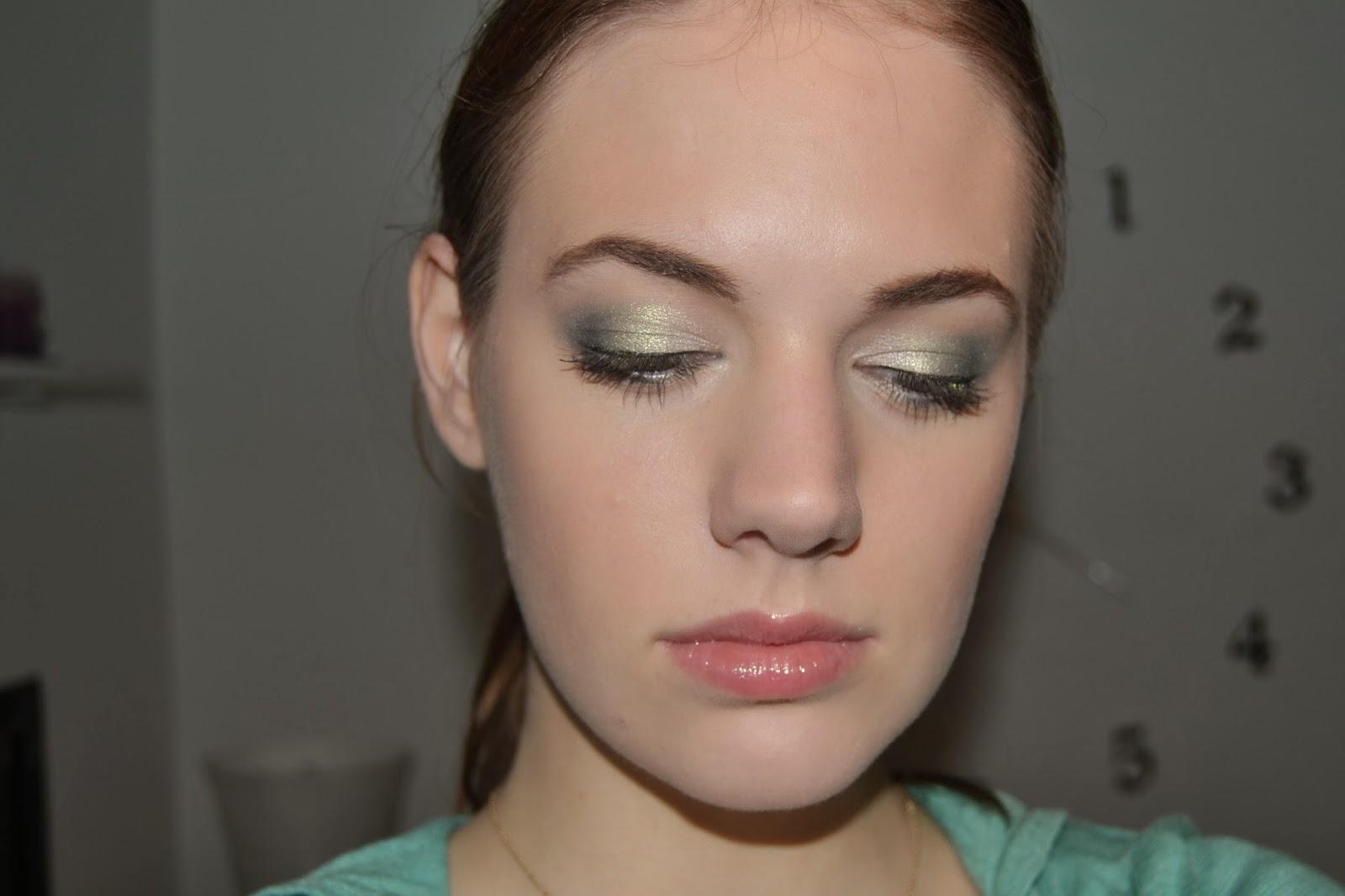 grøn makeup
