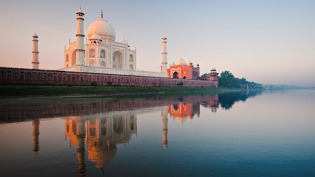 The Taj Scenery