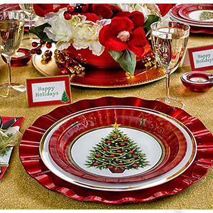 Tilbury decoraci n diciembre 2013 for Vajillas para navidad