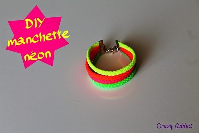 faire un bracelet néon