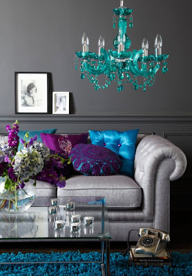 Lush Fab Glam: Home Decor Ideas: Who Knew Grey Could Be So Beautiful?