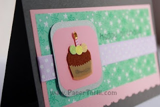 Yummylicious cupcake birthday card