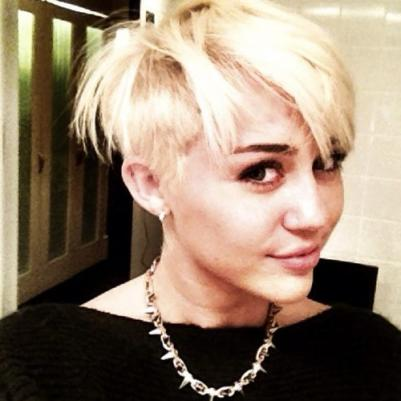 Miley Cyrus 2012 Hairstyle