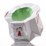 Tron il vasino monouso biodegradabile