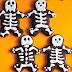 HALLOWEEN 2013: Biscotti scheletrici