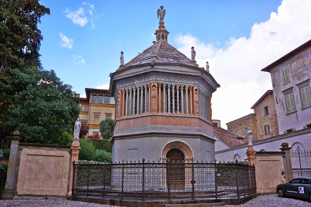 Picture of the baptistery in Bergamo, Italy.