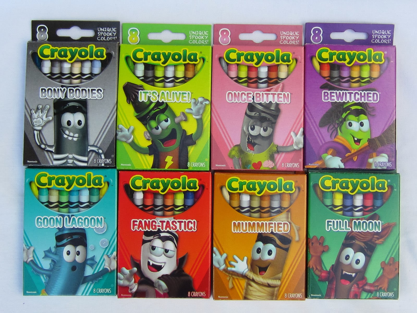 The Crayon Blog: Finally...the 2013 Crayola Halloween crayons