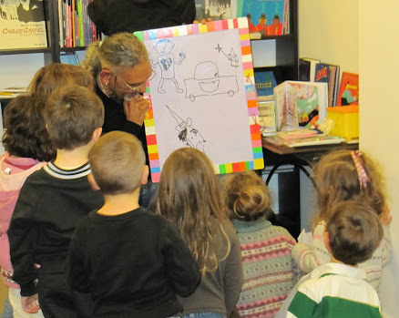 taller con niños hispanos de francia