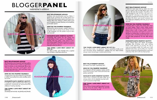 Canadian Fashion Bloggers Magazine Feature
