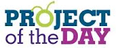 My project was chosen as Project of the Day on the Cricut Circle Blog