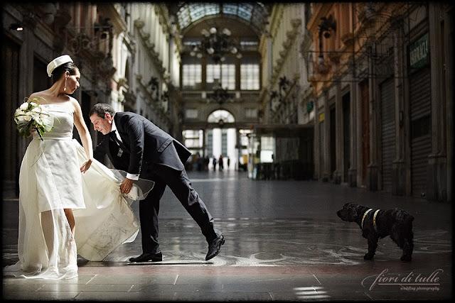 foto matrimonio Genova Galleria Mazzini