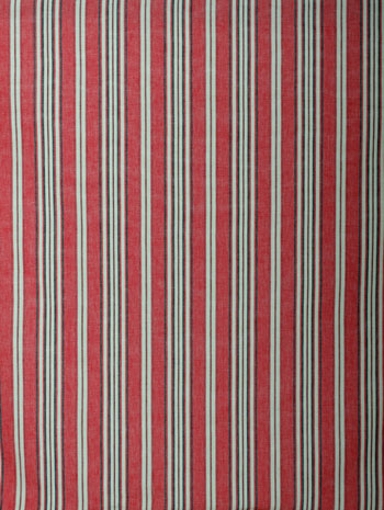 Curtains too deep red country grey and graphite stripes in a robust