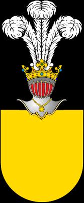 D'or au château transparent Bandinelli_stemma%2528Roma%2529