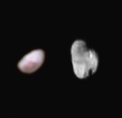 Малые спутники Плутона Никта и Гидра
