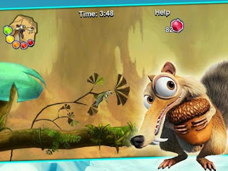 Screenshots of the Ice age Scrat's world for Android tablet, phone.