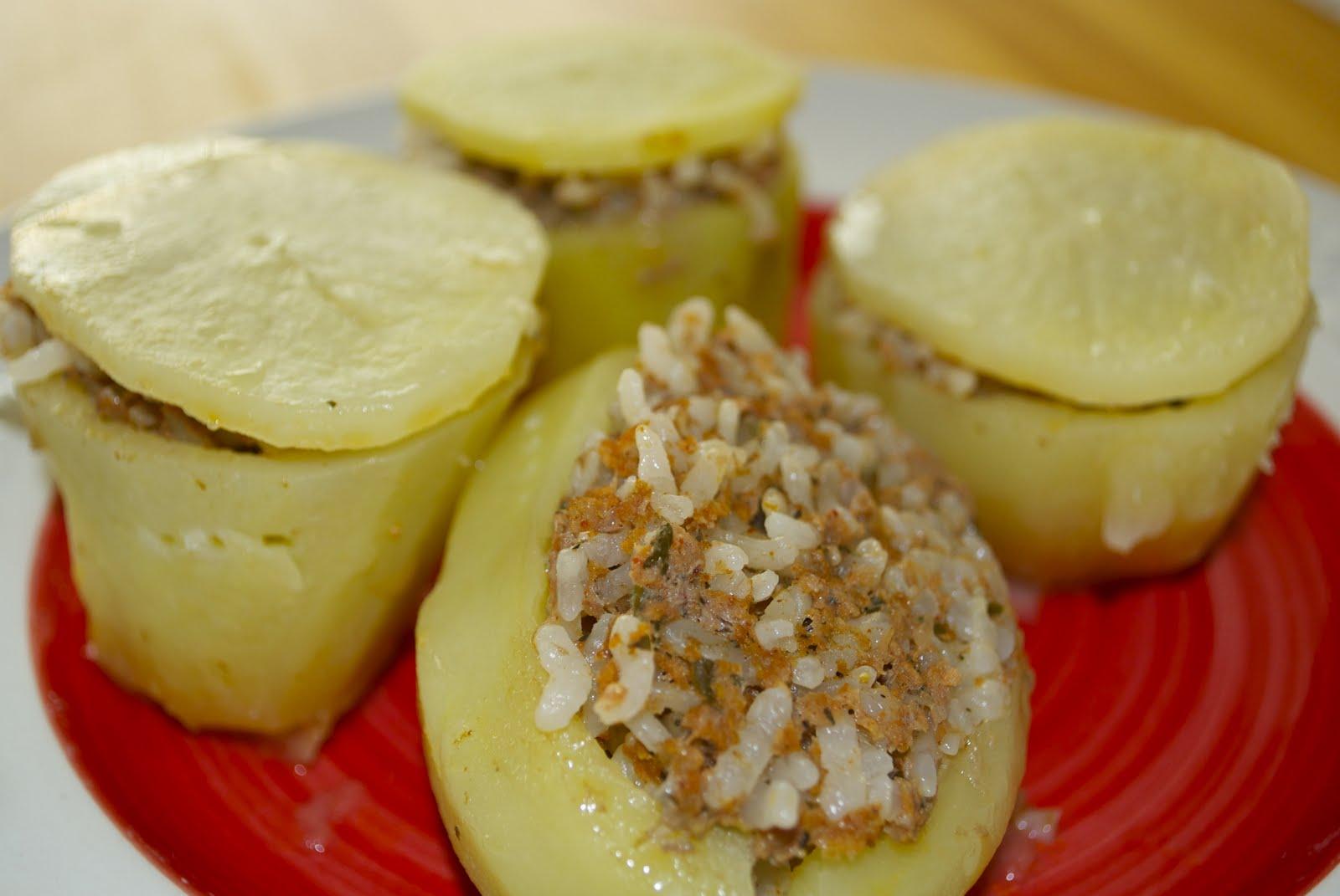 Tavuklu Patates Dolması Tarifi
