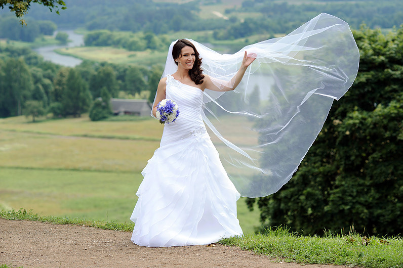 Vestuvių fotosesija Kernavėje