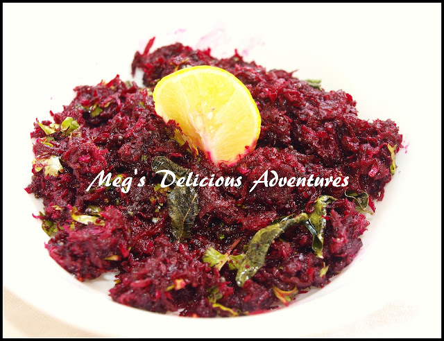 Beetroot Pachadi (Beetroot Salad)