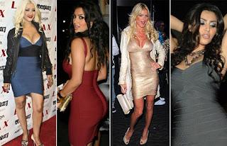 modelos de vestidos colados