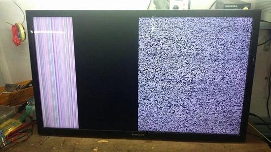 Sửa tivi lg LCD,lg LED bị hỏng panel màn hình