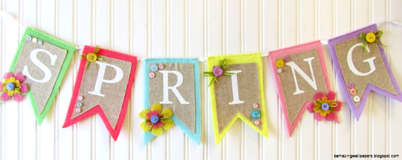 Printable Spring Flower Banner — Crafthubs