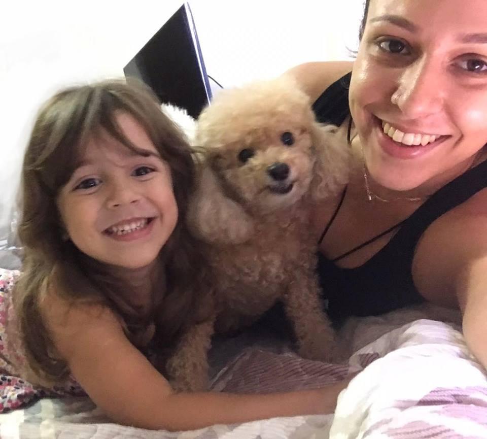 Maria Helena, Sophie e Rebecca