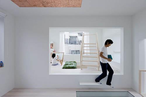 House H interior