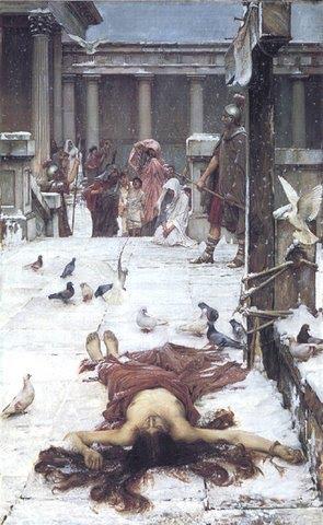 imagen del martirio