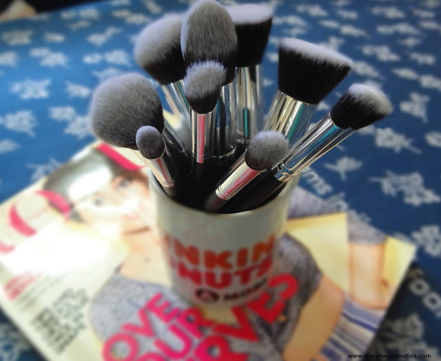 Jessup makeup brushes from EBay