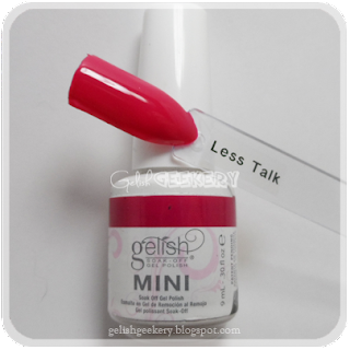 Gelish Swatch Less Talk