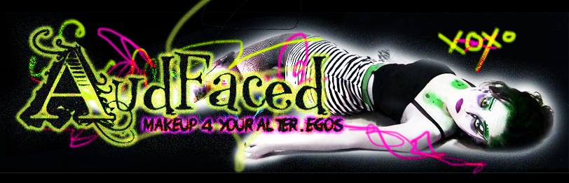 AUDFACED : MAKEUP 4 YOUR ALTER.EGOS
