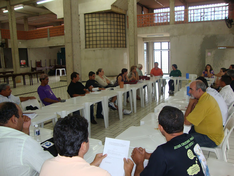 Reunião coordenadores do regional Sul 1 cnbb SP