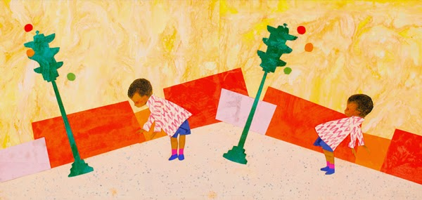Ezra Jack Keats - Final illustration for Whistle for Willie, 1964