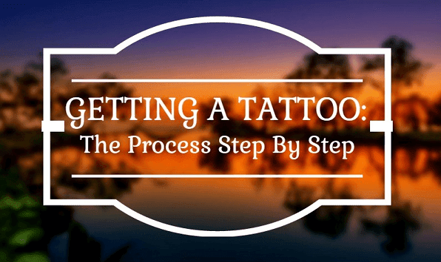 the process of getting a tattoo Getting a tattoo may have some unexpected complications if your immune system  isn't  process may be associated with severe muscle pain.