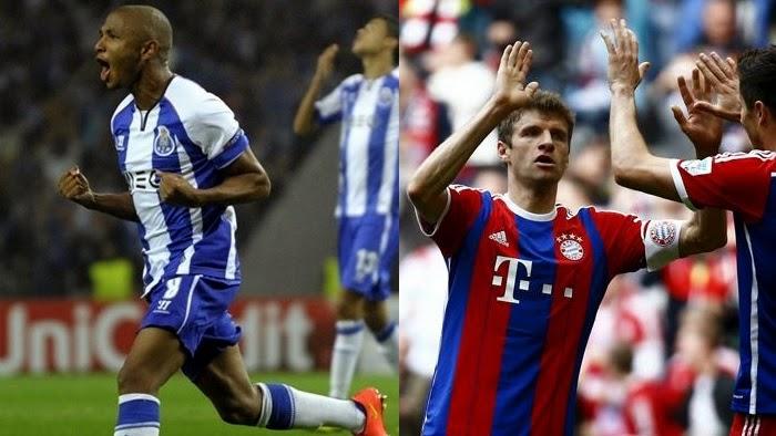 Porto vs Bayern Munich en vivo