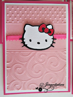 hello kitty baptism invitations birth announcement