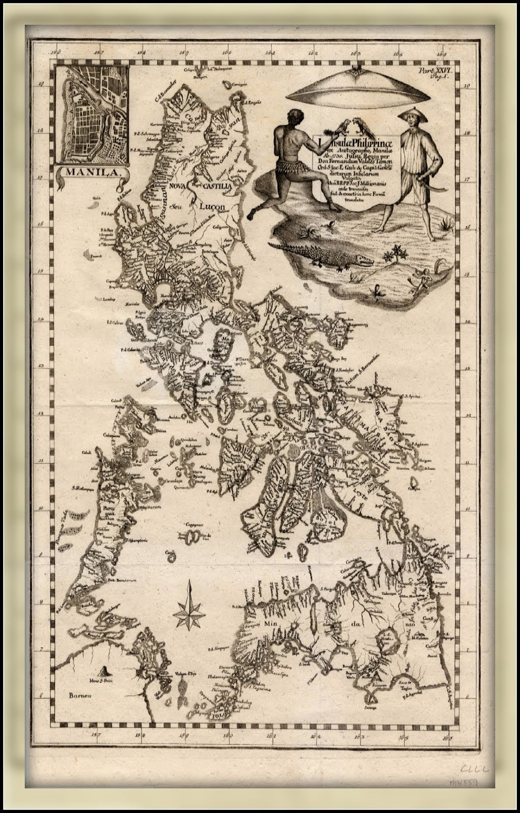 Old Map - Pilipinas