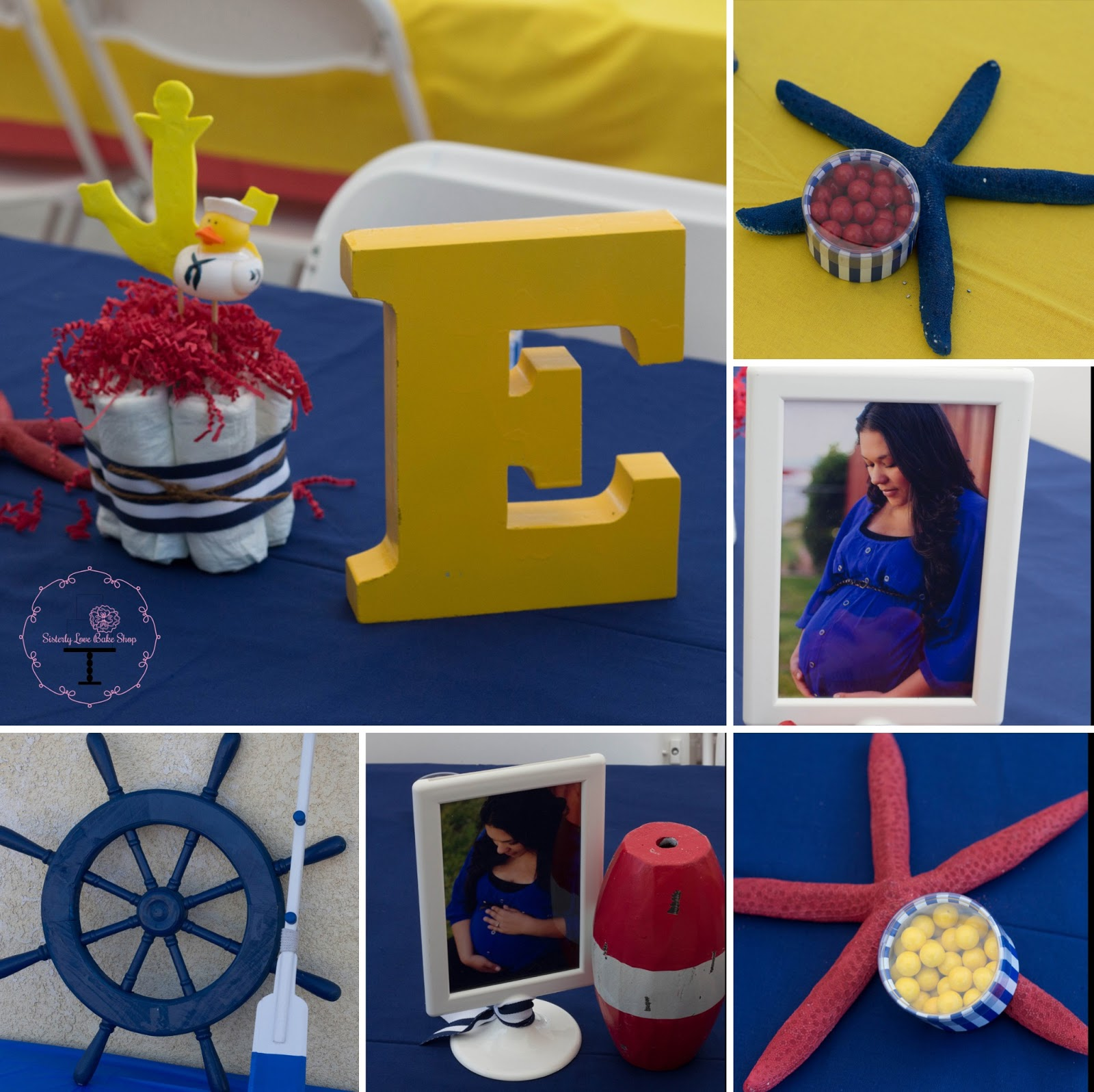 Pastel Cake Design Part 3 Nautical Baby Shower Decor