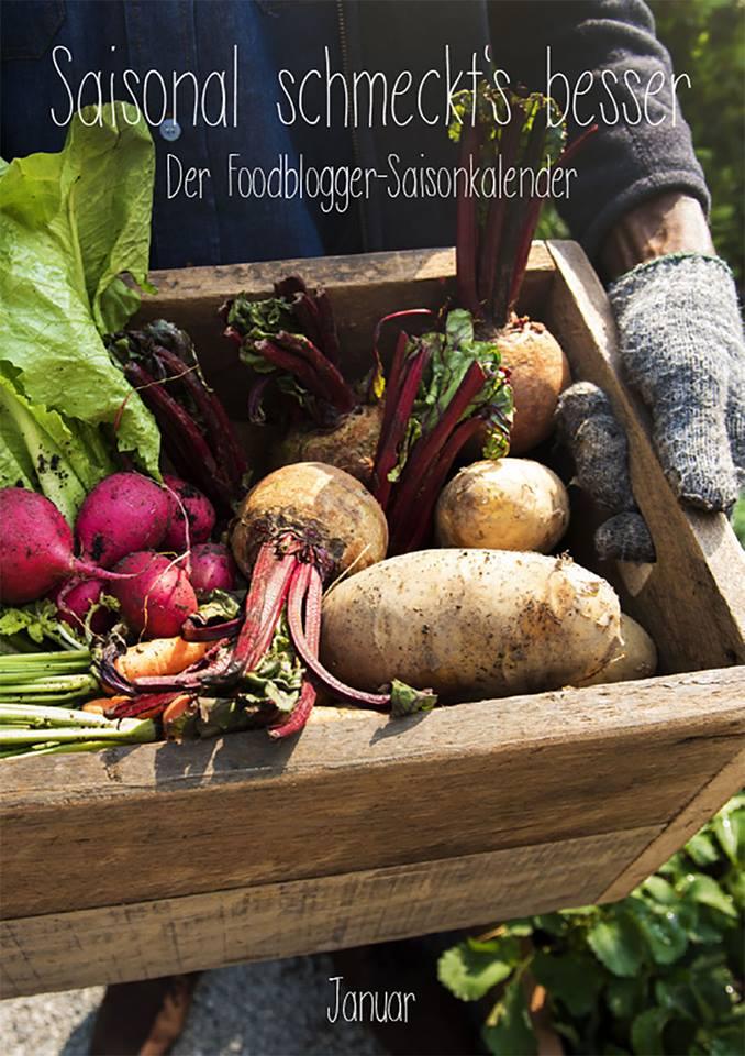 Saisonal schmeckt's besser! Der Foodblogger-Saisonkalender