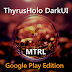 DarkMTRL ThyrusHolo CM11 Theme v1.5 Apk Download