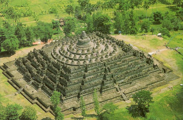 Borobudur Temple ~ Indonesian_Beautiful