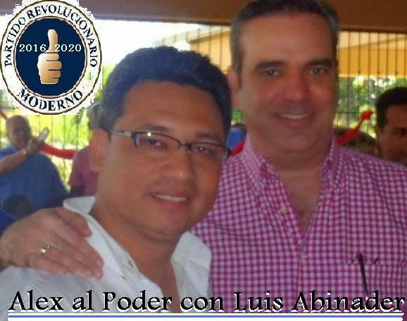 ALEX MORALES Y LUIS ABINADER