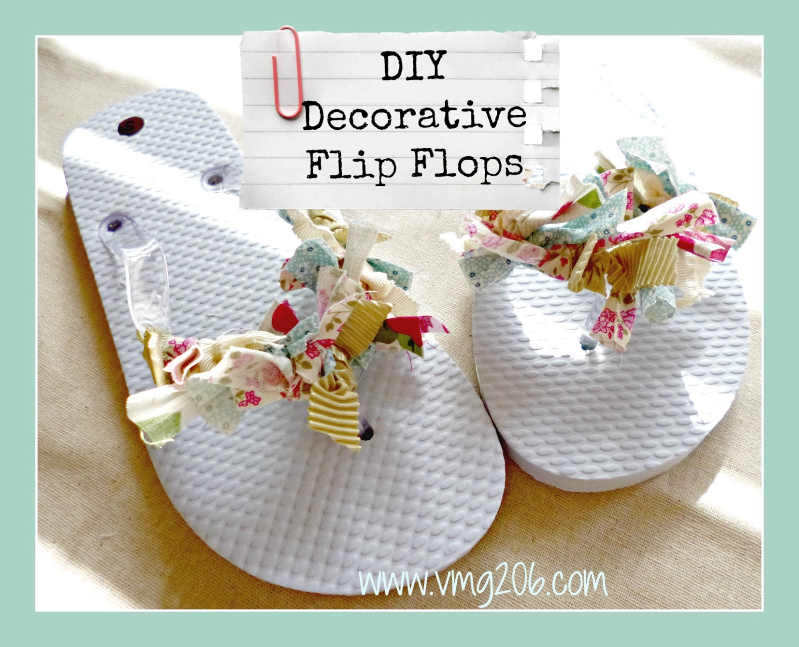projects refashion decorating to flip decor a ideas how sandal flop make