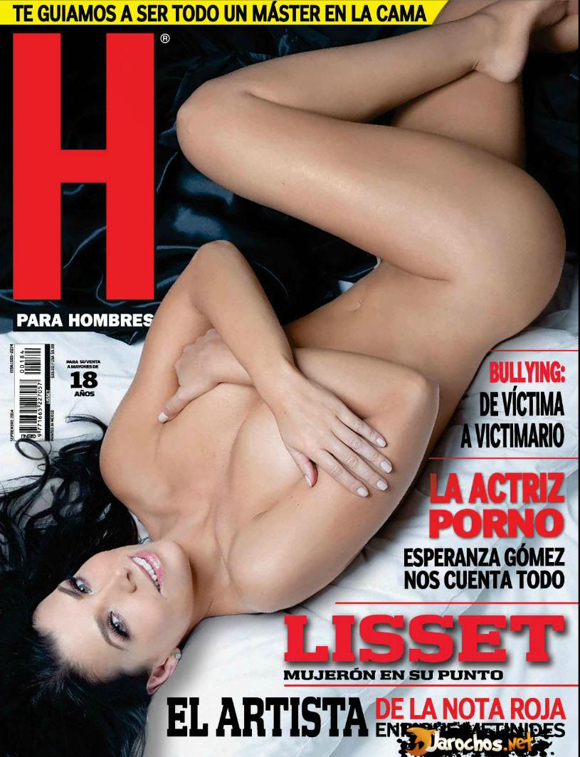 Revista H Para Hombres Septiembre 2014 México Lisset PDF DIGITAL MEGA
