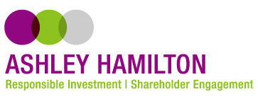 Ashley Hamilton | Responsible Investment | Shareholder Engagement