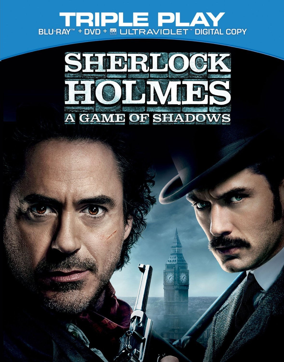 ... & HD Covers: Sherlock Holmes (1+2) Movie Duology Bluray HD Covers